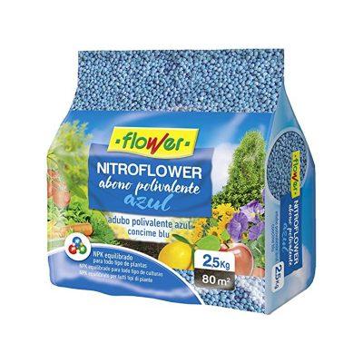 Abono polivalente azul Nitroflower 2.5 kilos