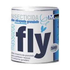 Cebo insecticida-atrayente granulado moscas