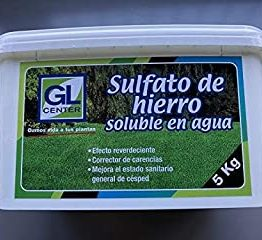 Sulfato de hierro soluble en agua 5 kilos