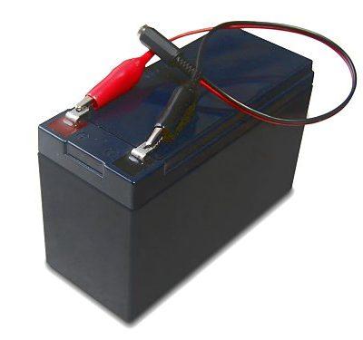 Batería para comedero automático