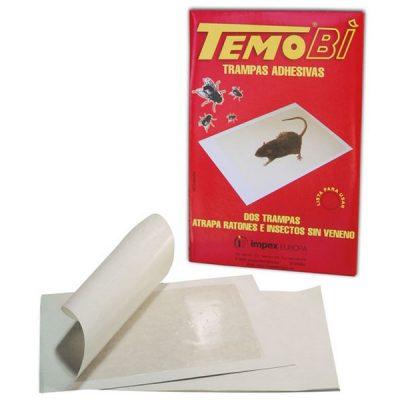 trampas adhesivas ratones